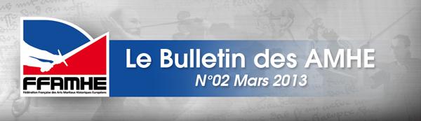 Bulletin des AMHE - Mars 2013 - FFAMHE