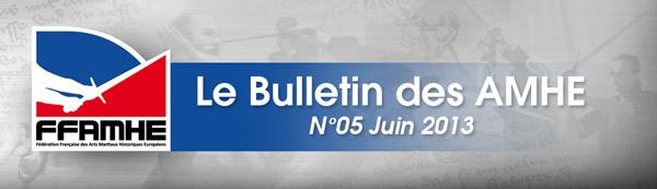 Bulletin des AMHE - Juin 2013 - FFAMHE