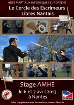 Stage AMHE Nantes 2013