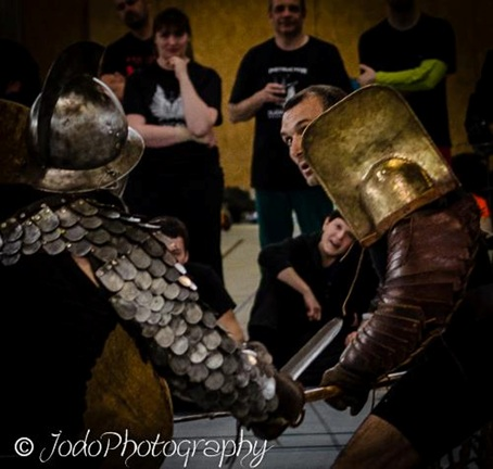 Démo gladiature dijon 2013