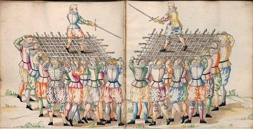 Danse de l'épée Codex 10779