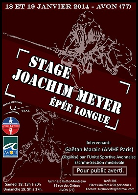 Stage Fontainebleau Joachim Meyer