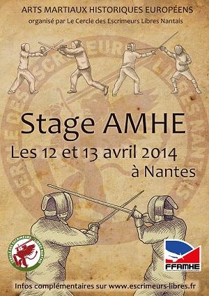 Stage AMHE Nantes 2014