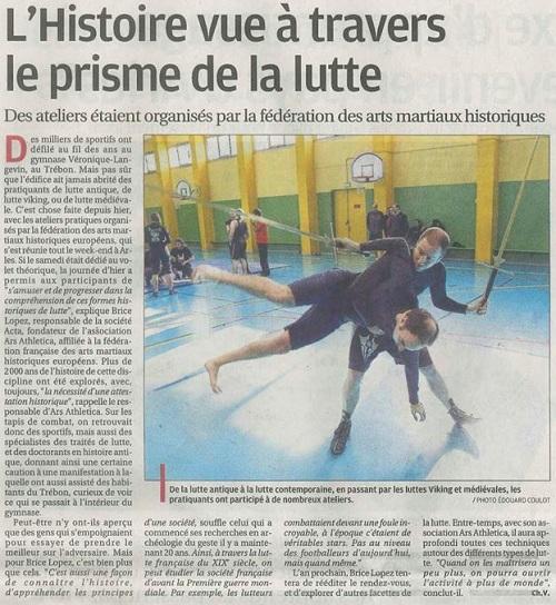 Stage Lutte Arles
