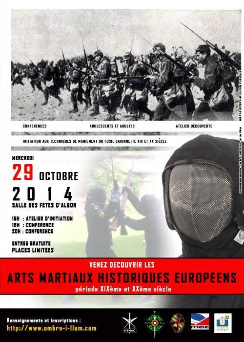 Découverte des Arts Martiaux Historiques Européens XIXe et XXe siècle à Albon (26)