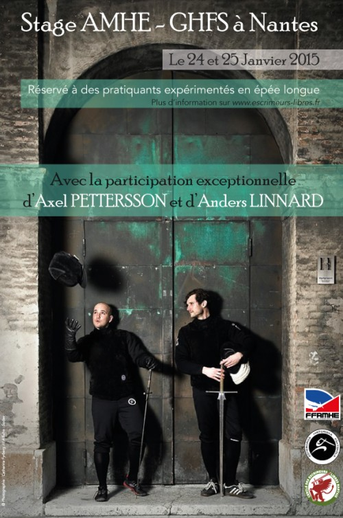 stage Nantes janvier - Axel Pettersson & Anders Linnard