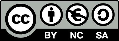 Logo de la licence CC-BY-NC-SA